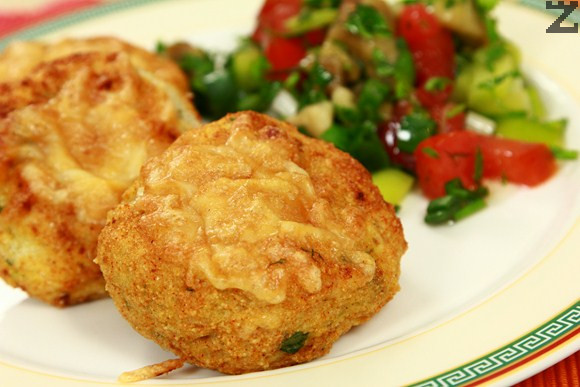 Картофени кюфтета с кашкавал на фурна