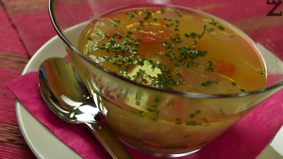 Пилешка супа с амарант