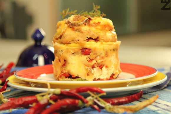 Печени чушки със сирене на фурна