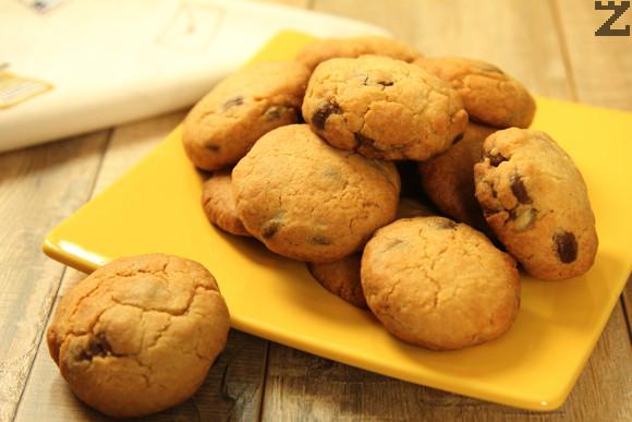 Американски бисквити с шоколад