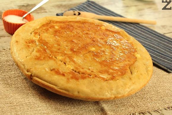 Бъркана питка със сирене