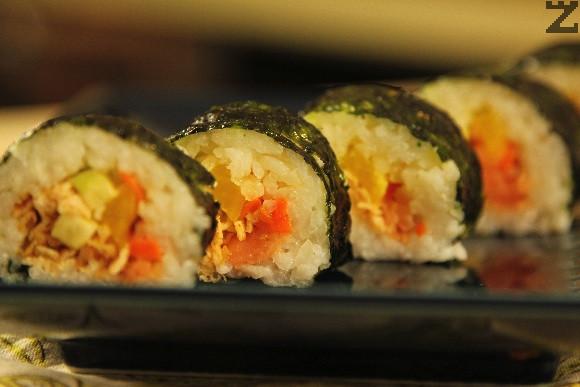 Кимбап - корейско суши