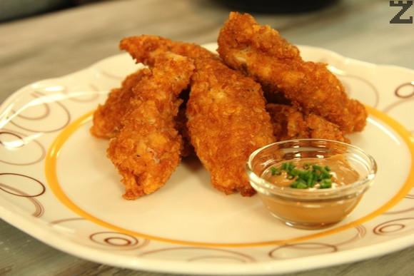 Рошави пилешки хапки