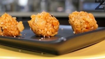 Корейски оризови кюфтенца - джумок-бап / Jumeok-bap /