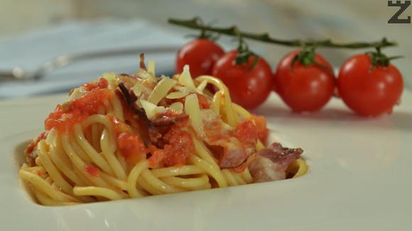 """Спагети """"Аламатричана"""""""