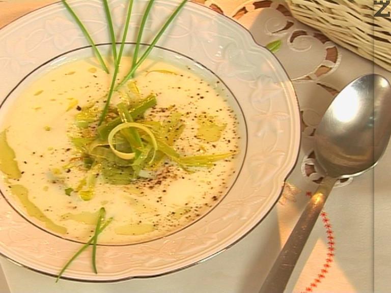 Супа от карфиол- 'Крем Дюбари'