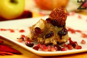 Постен ябълков сладкиш