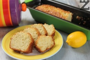 Сиропиран лимонов кекс