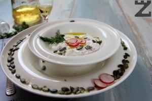 Снежанка с репички - Азербайджанска рецепта