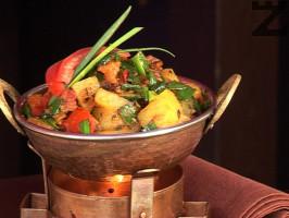 Алу харапядж (Картофи с пресен лук)