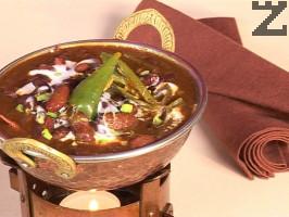 Червен боб с къри масала