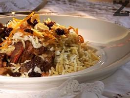 Телешко с ориз по афганистански - Кабели палау