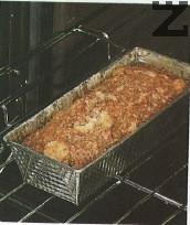 Пече се в ниската част на предварително затоплена фурна до 170 С за 40-45 мин.
