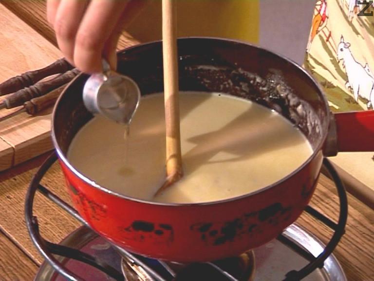 В края се сипва ракия и след минута е готово.